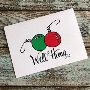 Nice Set of Ornaments Holiday card