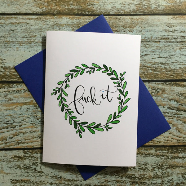 Mature Encouragement card, break up card, get well soon, Adult Cards, Condolences