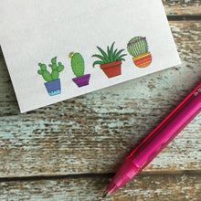 Sweet Cactus Sticky Notes