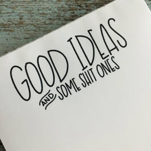 Mature Good Ideas Notepad, Grocery List, ToDo list