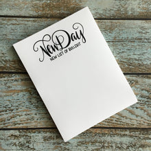 New Day New BS Notepad Mature, Girl boss, office supplies, work supplies