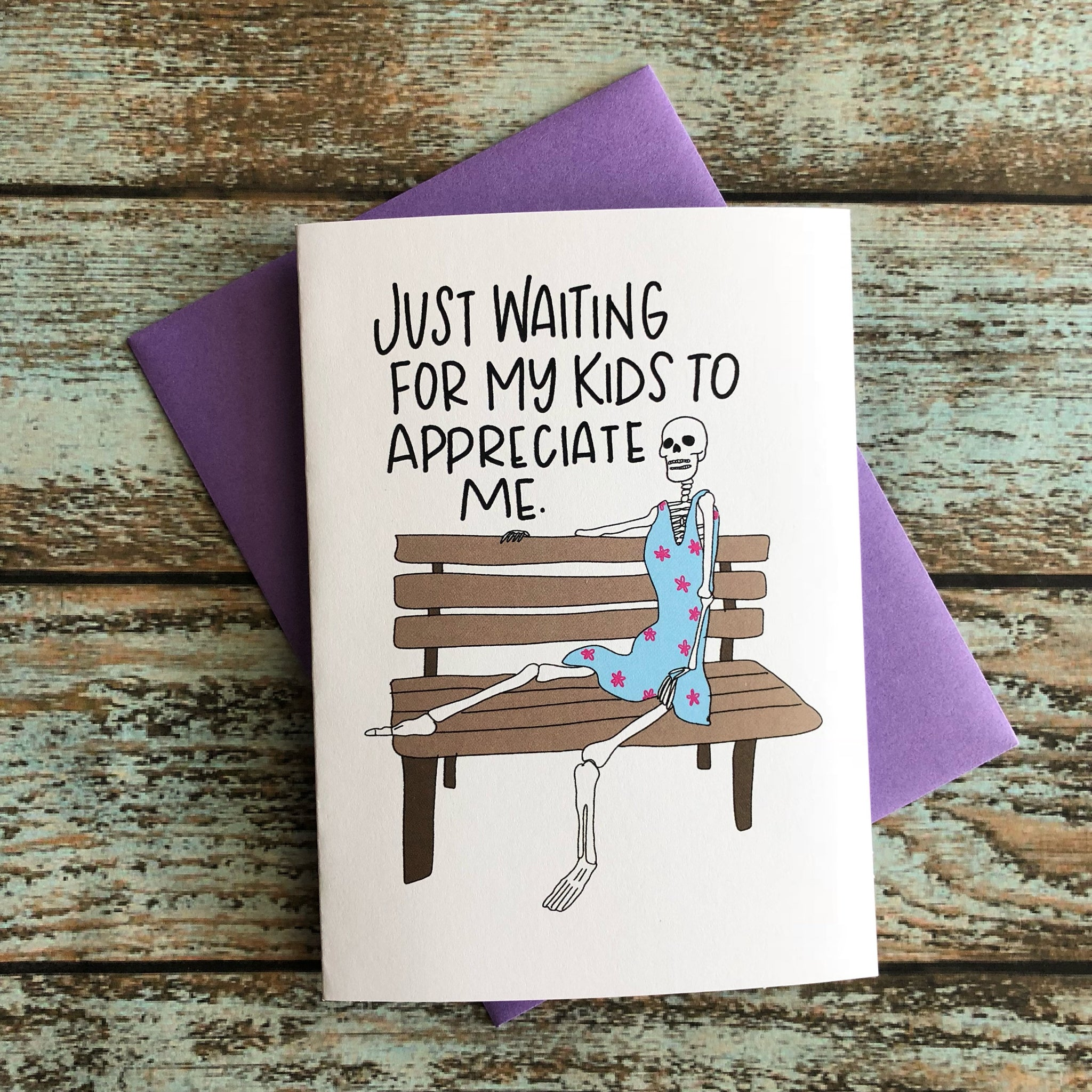 Waiting on Change Mother's Day Card, Mother's Day Appreciation Card, mom life