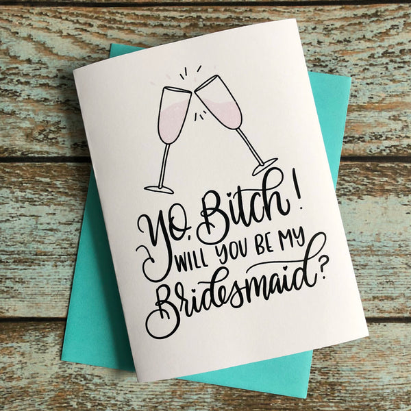 Super Formal Bridesmaid or Maid of Honor bubbly questions