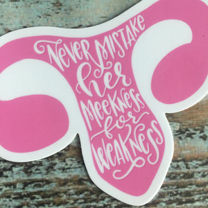 Handmaids Tale Quote Ovaries, Uterus, Feminist, Car Decal, Sticker, Organ, Water Bottle Decal