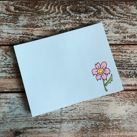 W.T.Flower Blue sheet Notepad