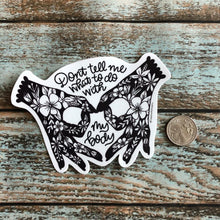 My Body My Rights Floral Reproductive Sticker