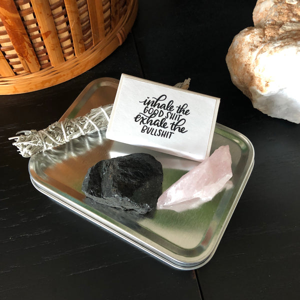 Travel Sage Smudge Kit