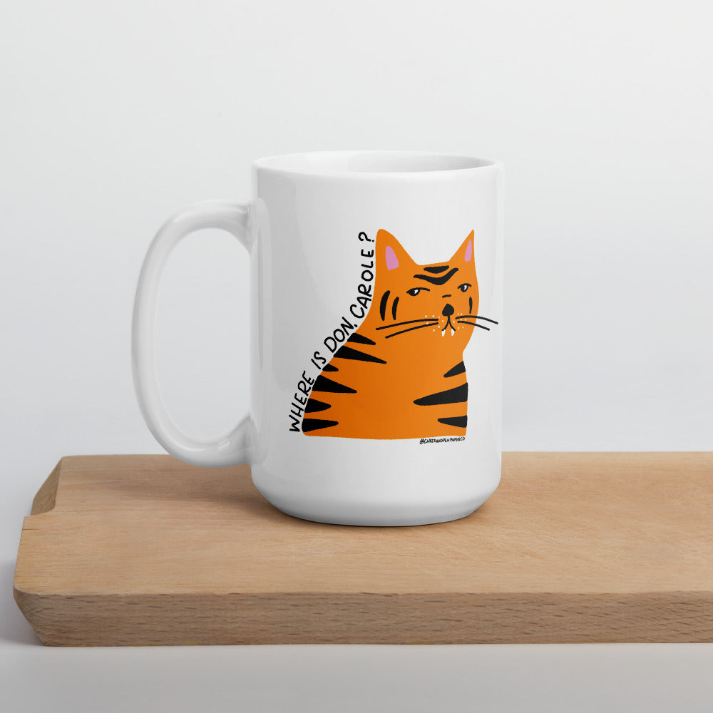 Questionable Cat 15 oz mug