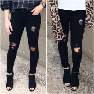 Distressed Thriller Skinnies