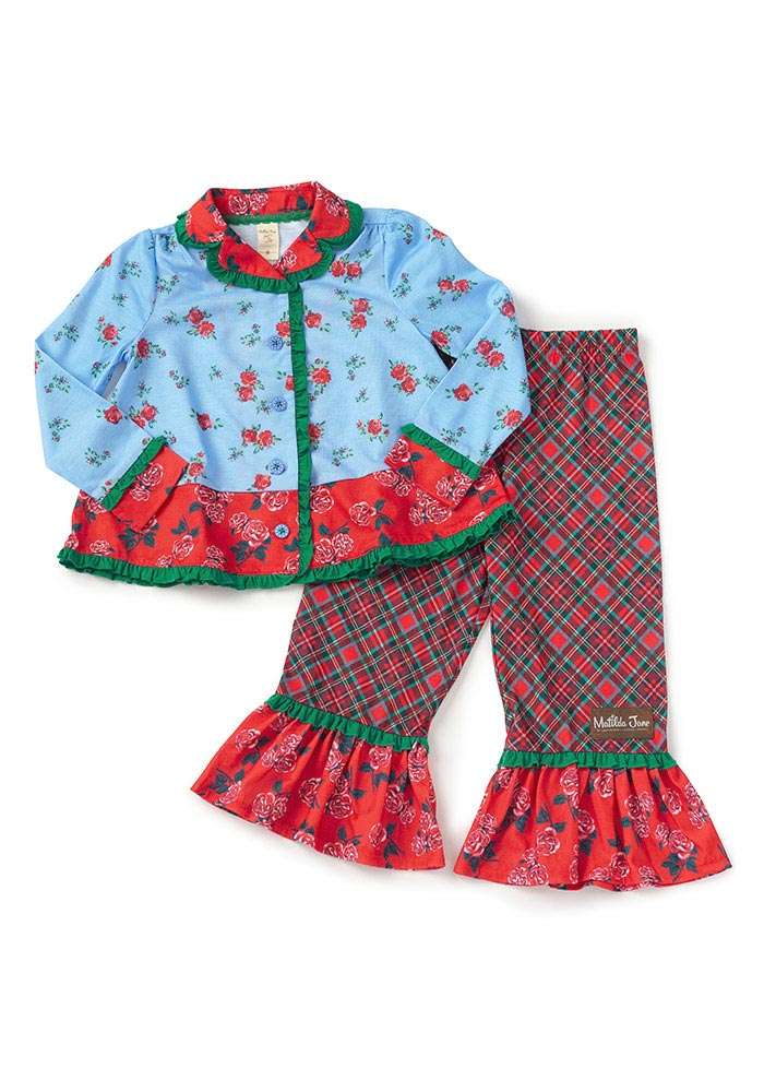 Long Winter's Nap PJ Set