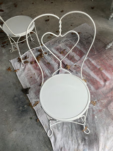 Ice Cream Parlor Chair
