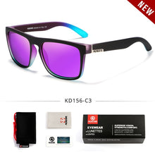 Fashion Guy's Sun Glasses From KDEAM Polarized Sunglasses Men Classic Design All-Fit Mirror Sunglass With Brand Box CE