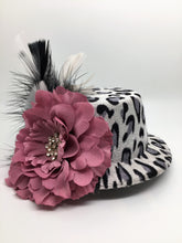 PINK LEOPARD CHILD'S FASCINATOR