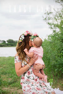 MOMMY & ME FLOWER CROWN