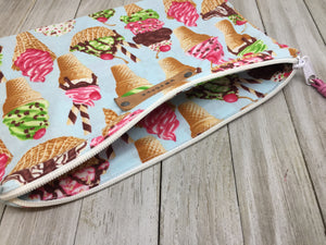TASTY TREATS COTTON MAKE UP BAG