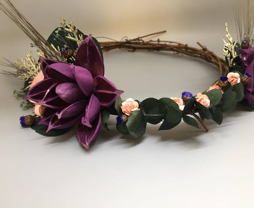 WILDFLOWER FLOWER CROWN