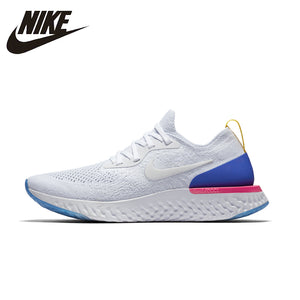 ef718544deaba4 NIKE Epic React Flyknit 2018 Oringinal Womens Running Shoes Mesh Breathable  Lightweight Sneakers For Women Sport