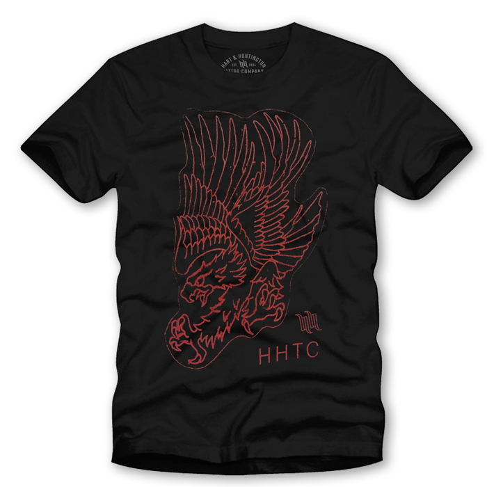 "Men's ""Stencil Eagle"" Tee - More Options"
