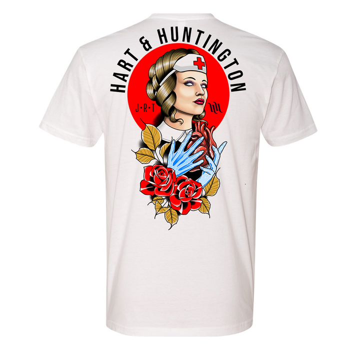 "Men's ""Support our Nurses"" Benefit Tee by Jimmy Rogers x H&H - White"