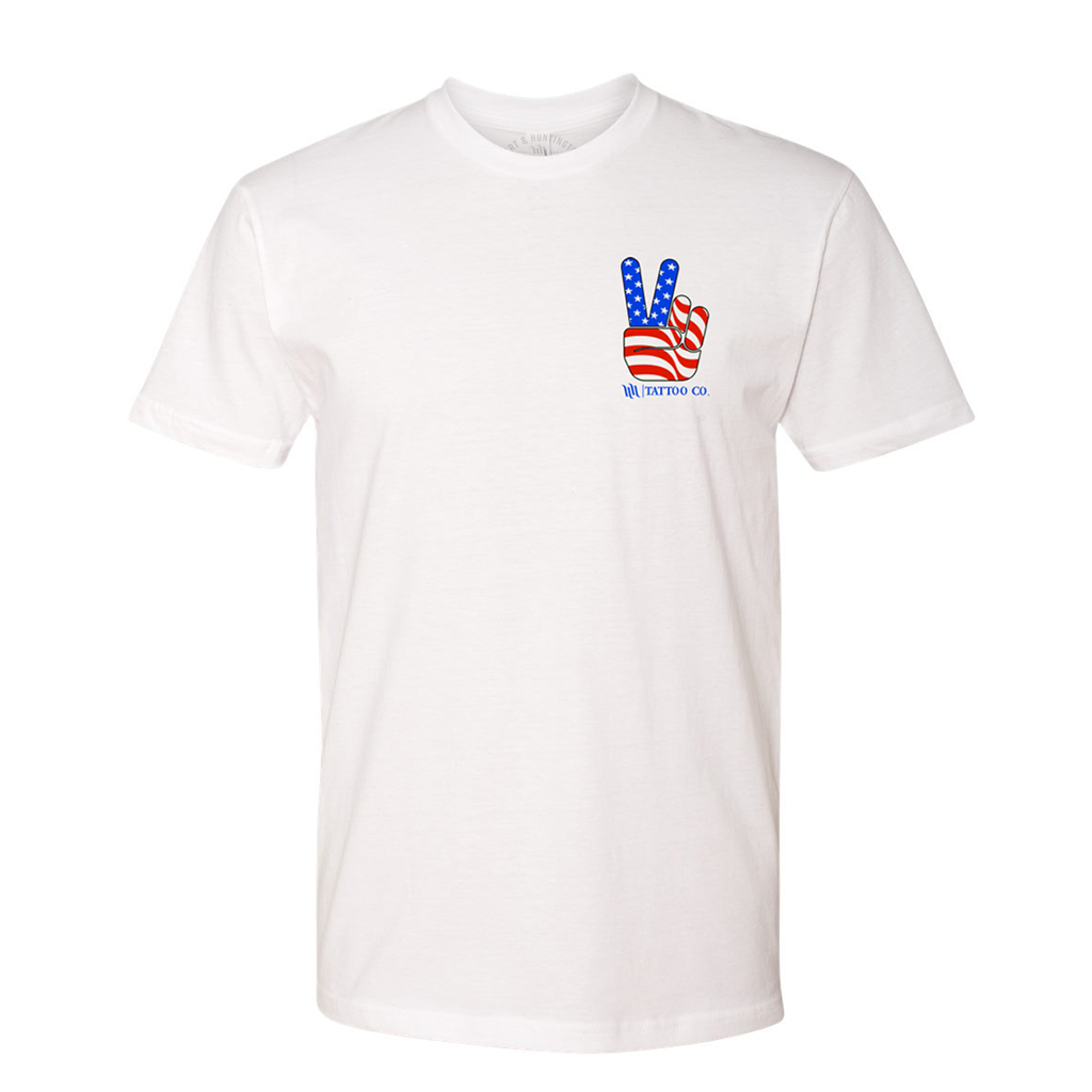 "Men's ""Liberty"" Tee - White"