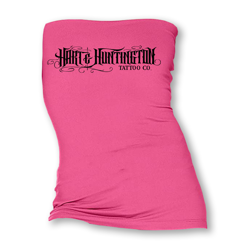 "Women's ""Hart & Huntington Script"" Tube Top - More Options"