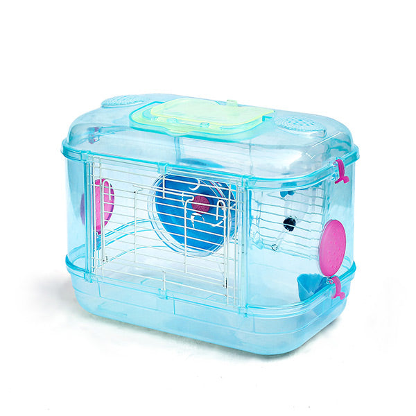 Unique Crystal Transparent DIY One Layer Hamster Cage
