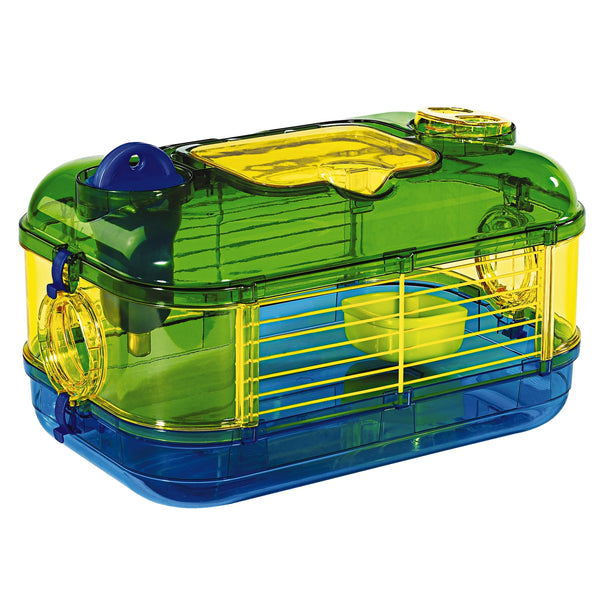 Kaytee Critter Trail Carry & Go Habitat Gerbil/Hamster Travel Cage