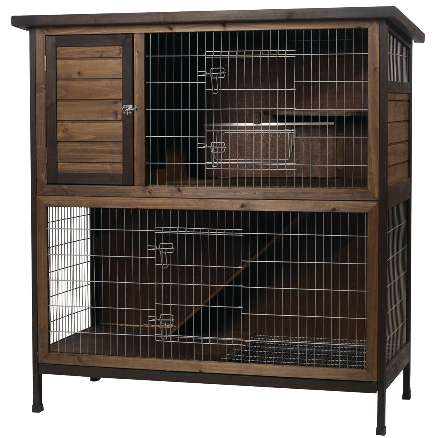 Kaytee Premium 2 Story Rabbit Hutch