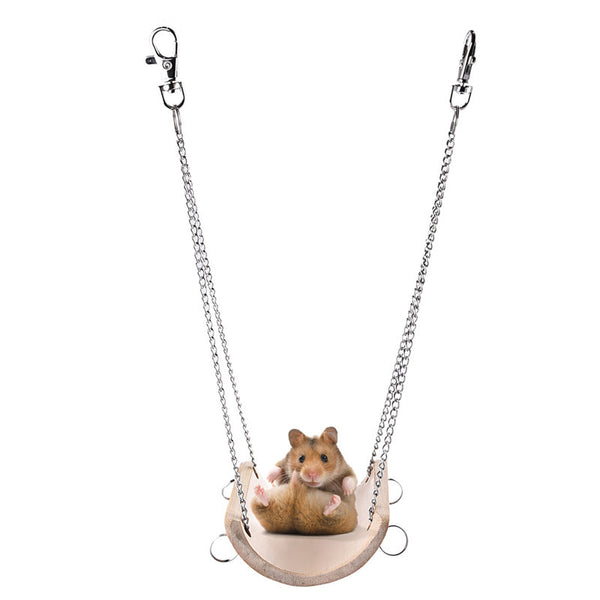 Bamboo Swing For Small Pets