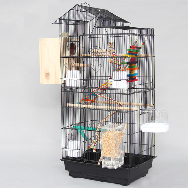 Cage Heaven™'s Fully Equipped Premium Bird Cage