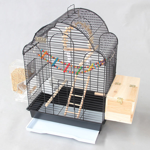 Cage Heaven™'s Fully Equipped Deluxe Bird Cage