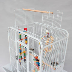 Cage Heaven™'s Fully Equipped Luxurious Large Bird Cage With Wheel Stand