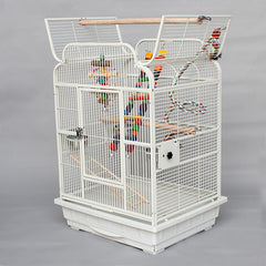 Cage Heaven™'s Fully Equipped Luxurious Bird Cage with Stand