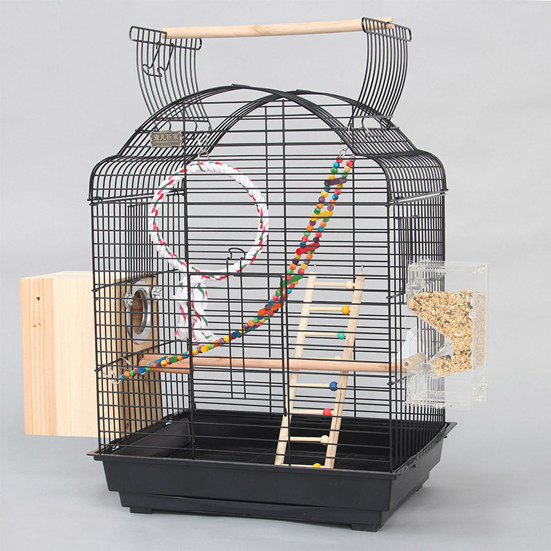 Cage Heaven™'s Fully Equipped Open Top Stylish Bird Cage