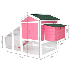 Large Outdoor Chinchilla Cage Hutch