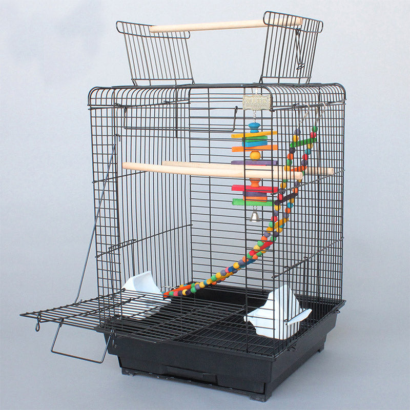 Cage Heaven™'s Fully Equipped Open Top Premium Bird Cage