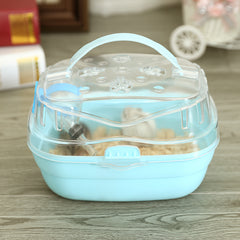 Portable Clear Hamster Cage