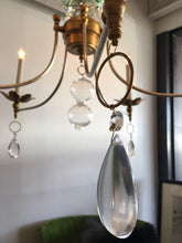 Vintage Murano Glass Chandelier with a Contemporary Twist