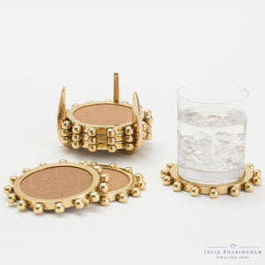Julia Buckingham for Global Views Starburst Crown Coasters