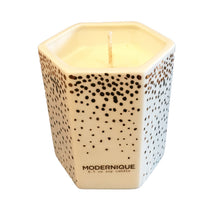 Modernique Soy Candle with White Birch, Cypress + Tonka fragance