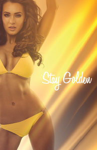 """Stay Golden"" Poster"