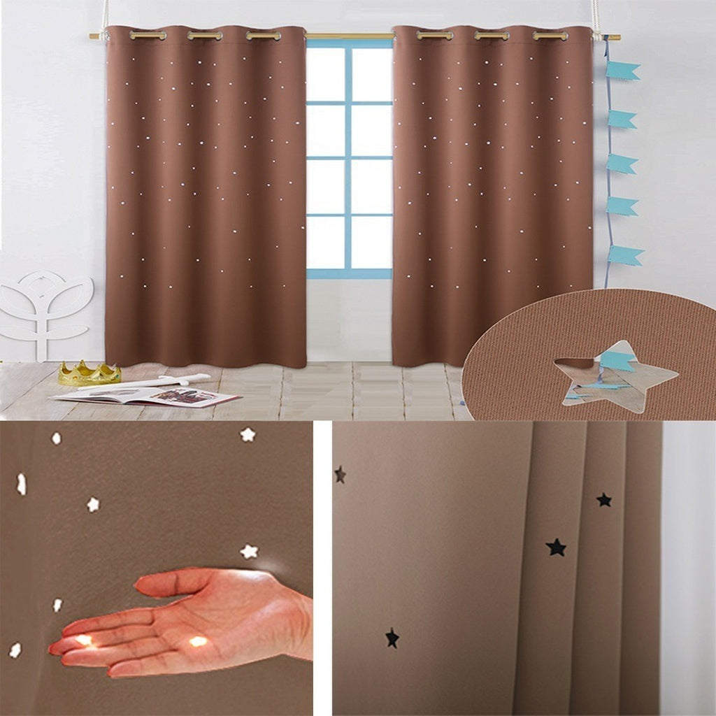 Sky Wonder Star Blackout Curtains Bedroom