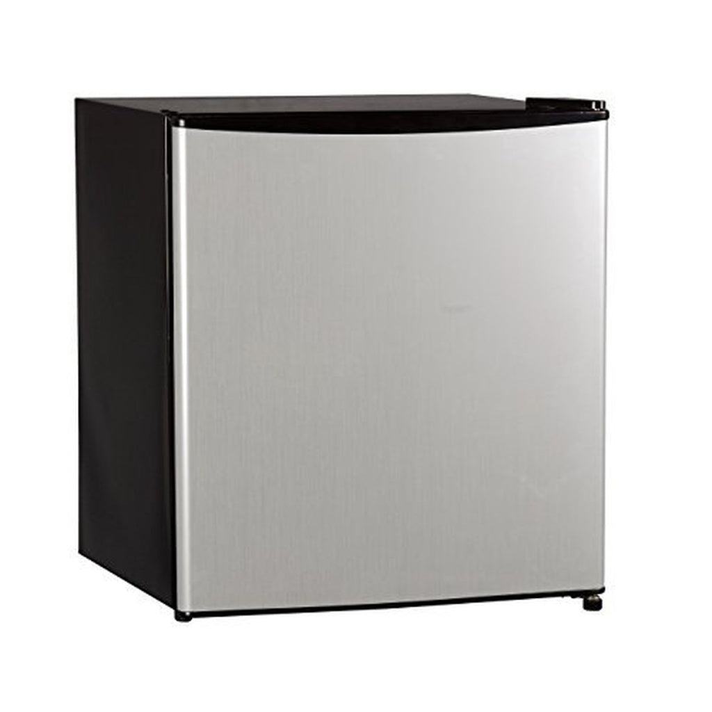 Stainless-Steel Compact Refrigerator & Freezer