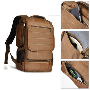 LUXUR 16 Inch Laptop Backpack b