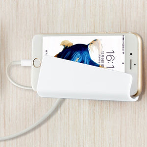 Mobile Phone Wall Adapter Hanging Stand Holder Bracket Charge Hanger Shelf
