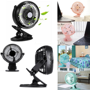 7'' Clip-on Table Fan Strong Airflow