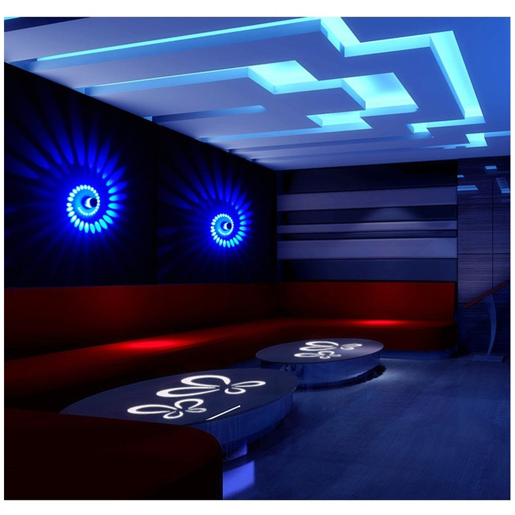 Modern style LED Wall Lamp  Indoor Lighting For Bar Luminaire  Background Lamps Halloween Christmas(no electric source)