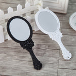 Folding Handle Makeup Mirror