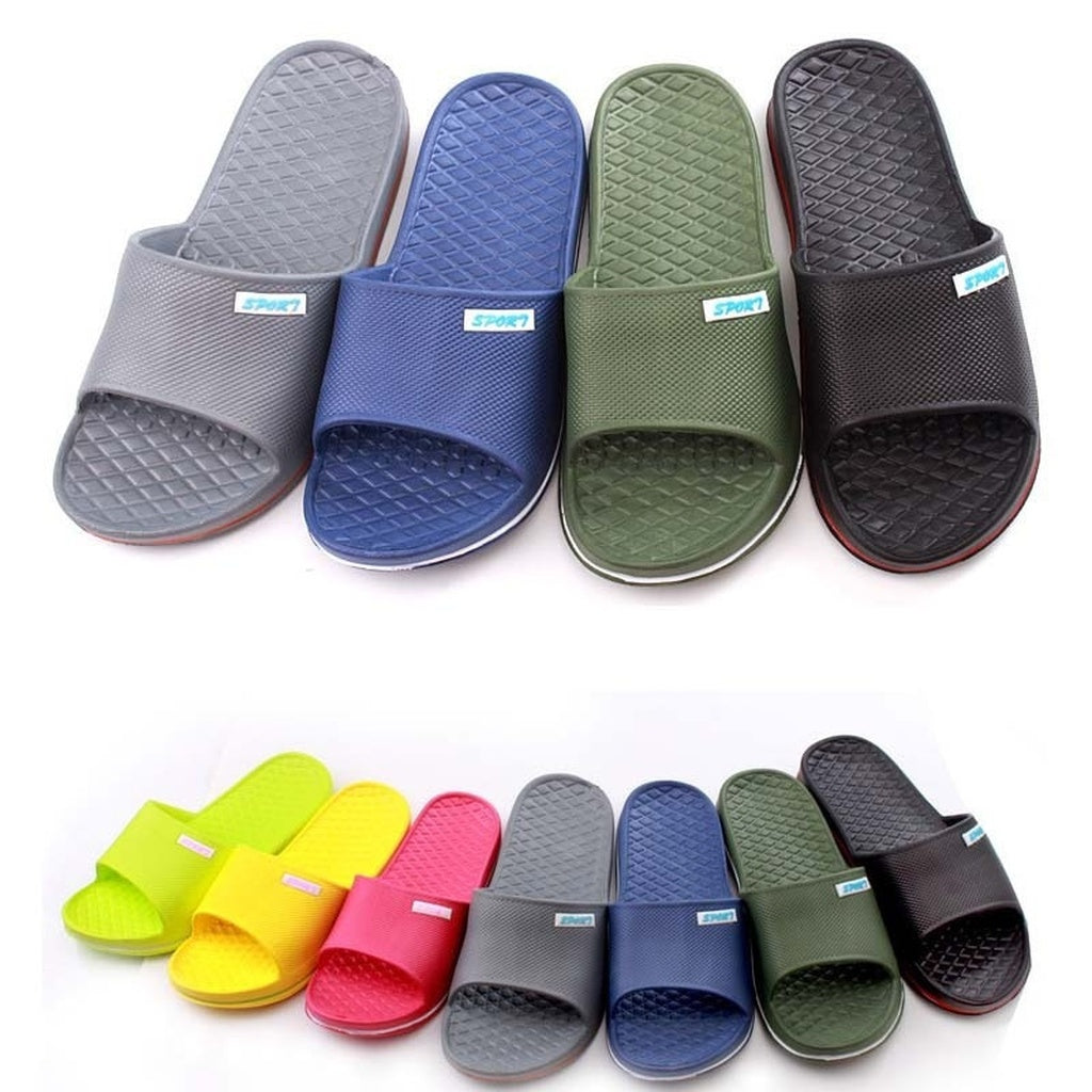 Unisex Anti-Slip Bathroom Slipper
