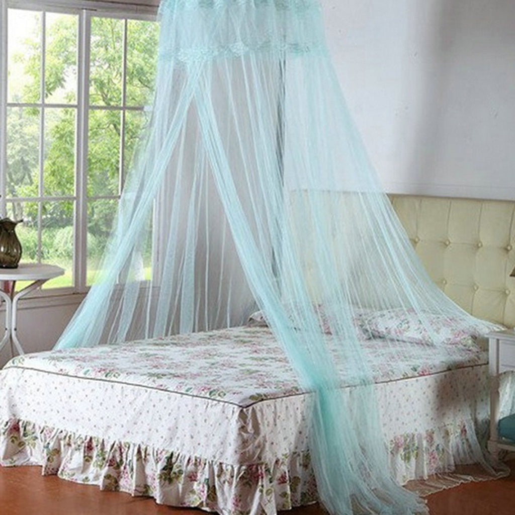 Elegant Round Lace Insect Bed Canopy Netting Curtain Dome Mosquito Net Bedding